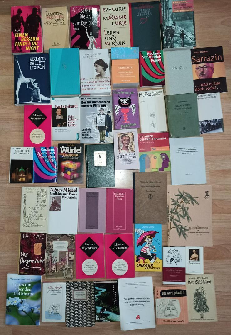 Bild 9: Bücher Konvolut Büchersammlung 277 Stück 1 Karton + 5 Säcke