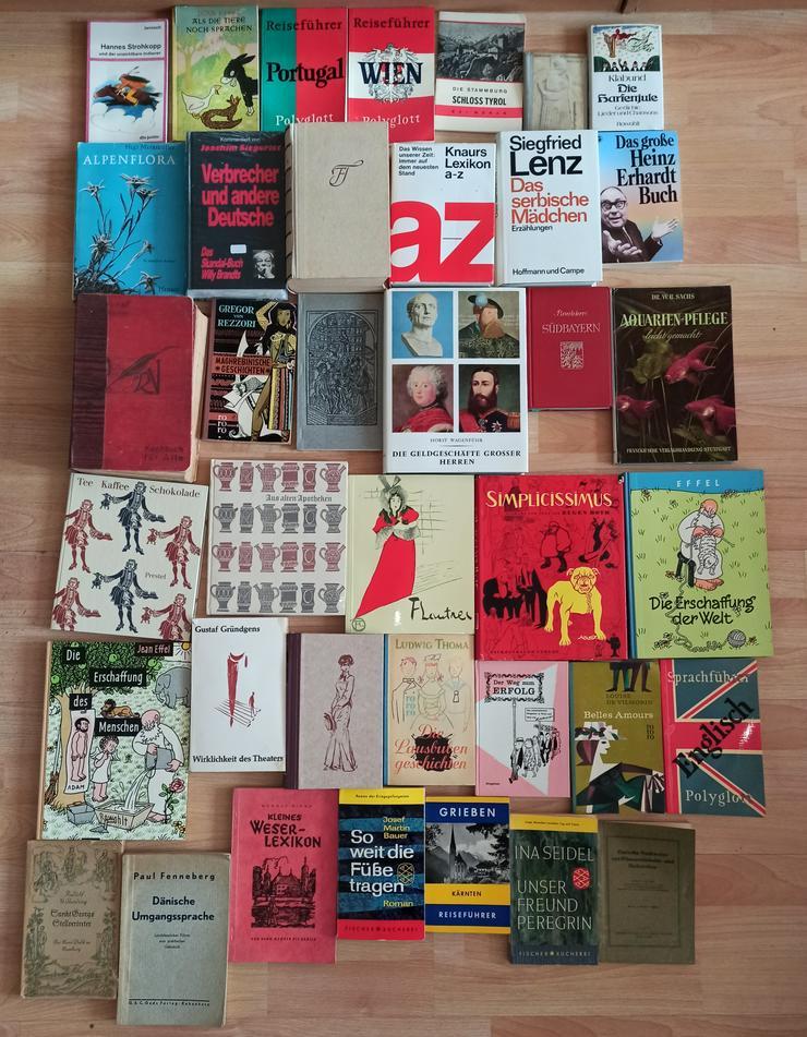 Bild 8: Bücher Konvolut Büchersammlung 277 Stück 1 Karton + 5 Säcke