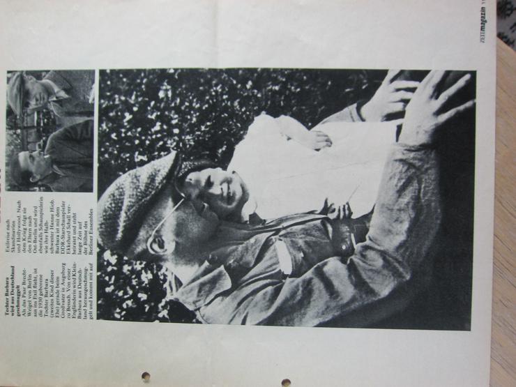 Bild 4: Bertolt Brecht 80 Jahre (ZeitMagazin Nr.6/3. Februar 1978