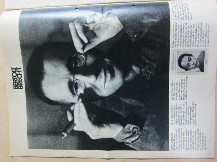 Bild 3: Bertolt Brecht 80 Jahre (ZeitMagazin Nr.6/3. Februar 1978