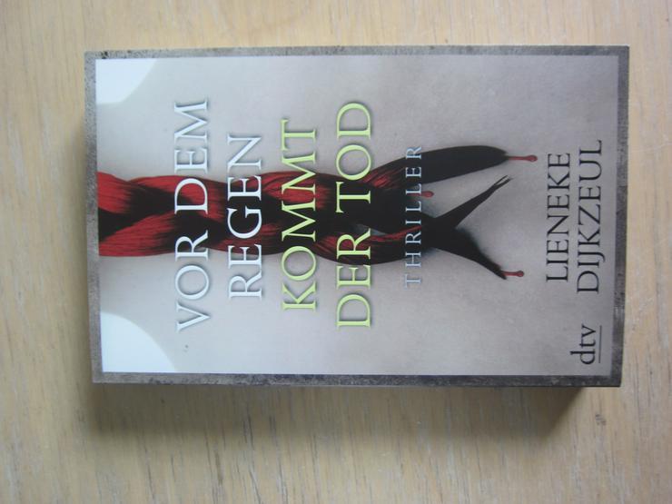 Lieneke Dijkzeul:Vor dem Regen kommt der Tod.- Thriller - Romane, Biografien, Sagen usw. - Bild 1