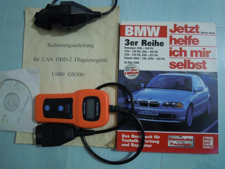 OBD-2 Diagnosegerät ,BMW Jetzt helfe ich mir selbst ,Fehlerspeicher auslesen u. löschen,Pannenhilfe