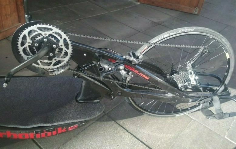 Bild 3: Handbike Rennbike Carbon