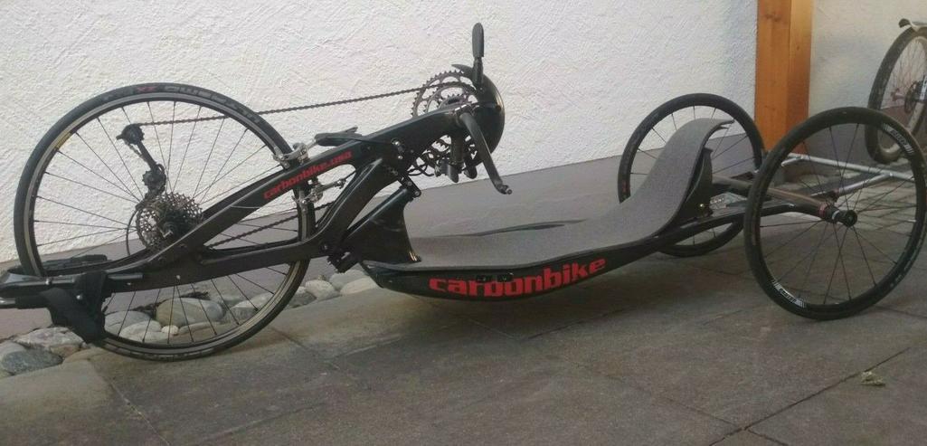 Handbike Rennbike Carbon - Citybikes, Hollandräder & Cruiser - Bild 1