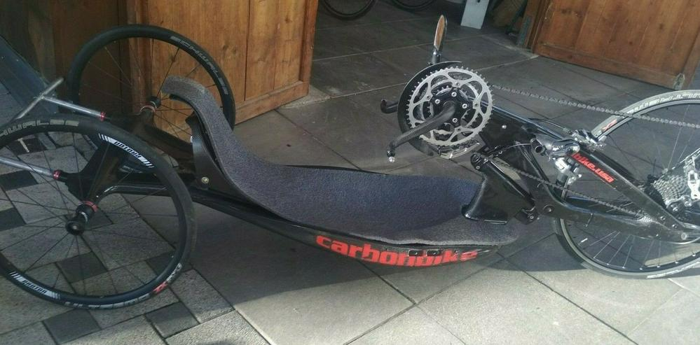 Bild 2: Handbike Rennbike Carbon