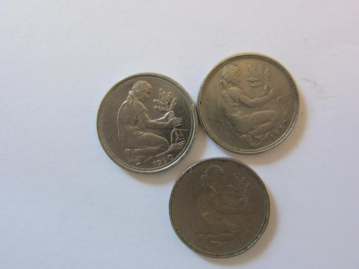 3 50 Pfennig - Münzen - Deutsche Mark - Bild 1