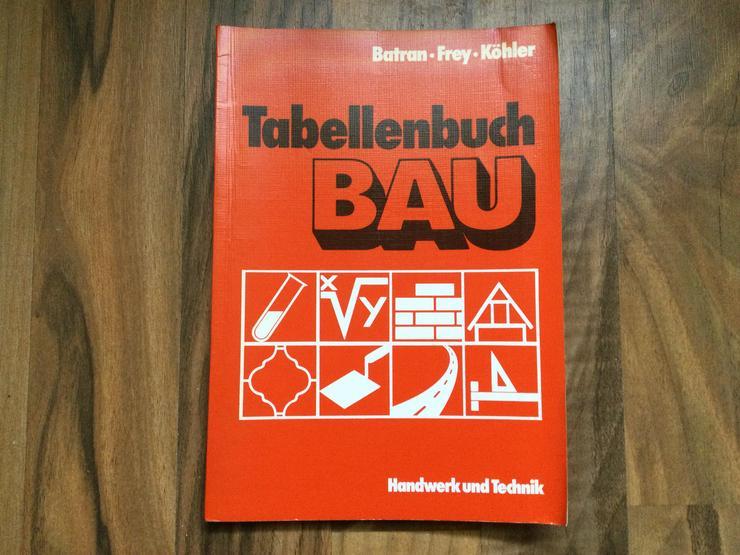 TABELLENBUCH BAU - Schule - Bild 1