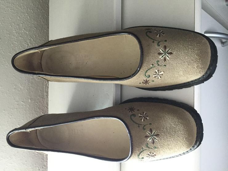Schuhe Landhausstil - Größe 40 - Bild 1
