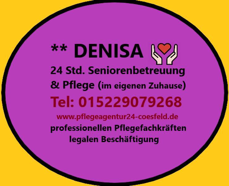 24 Stunden Seniorenbetreuung DENISA - rund um die Uhr
