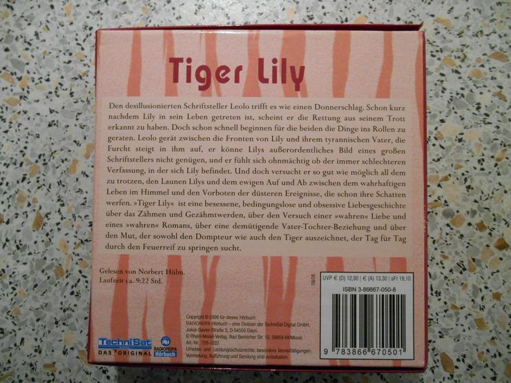 Tiger Lily. Hörbuch von P. L. Galle. Achtung, ohne MP3-Bonus-CD - Hörbücher - Bild 2