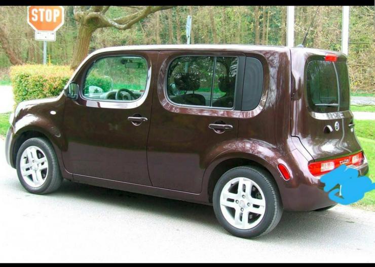 Bild 2: Nissan Cube Farbe schokobraun