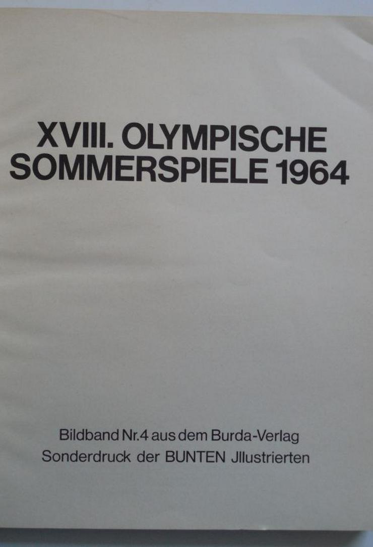 Bild 2: Olympiade 1964 Tokio Bildband XVIII