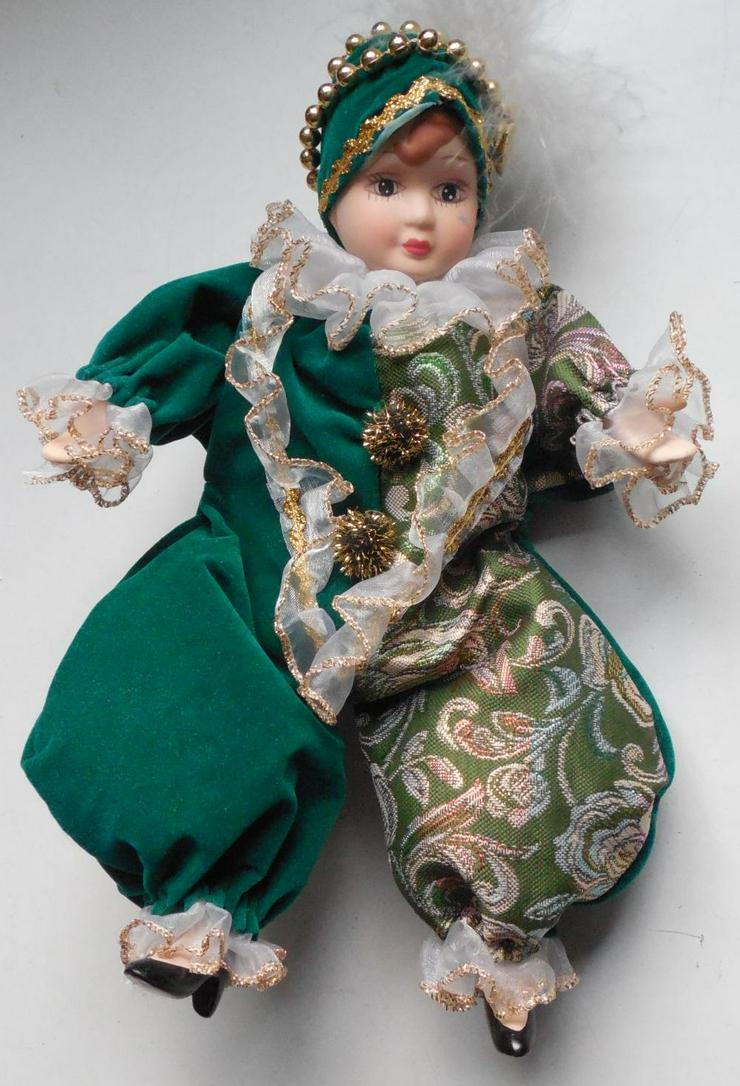 Kasper-, Harlekin-Puppe