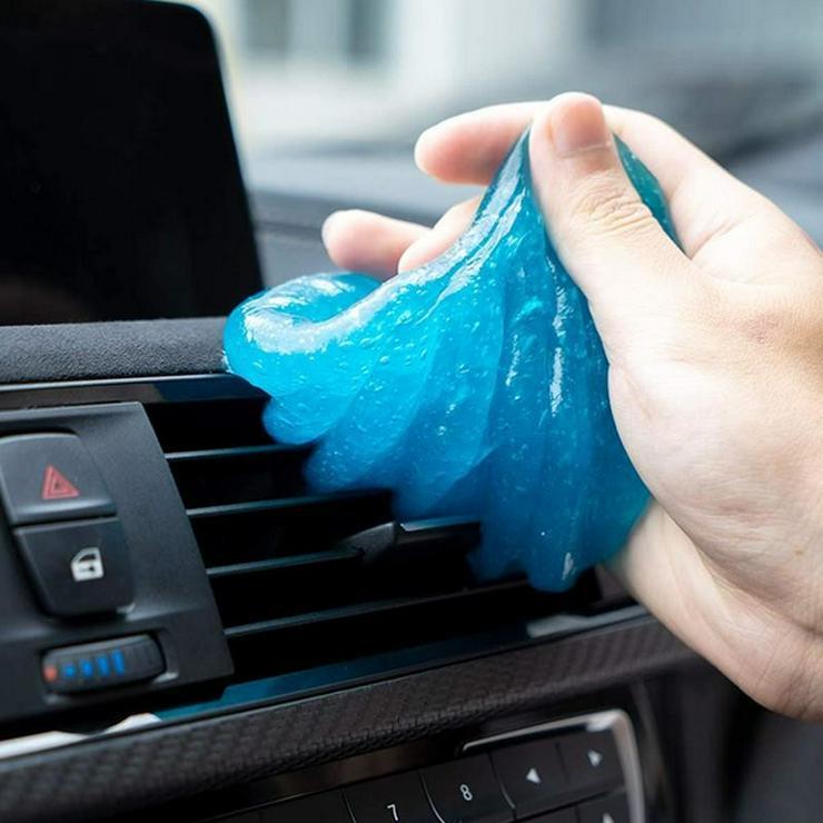 Reinigungsgel / Pad ✅ Staub und Schmutz Entferner Auto Tastatur Wunderschleim Sauber Putzen Dreck Reinigungsmittel