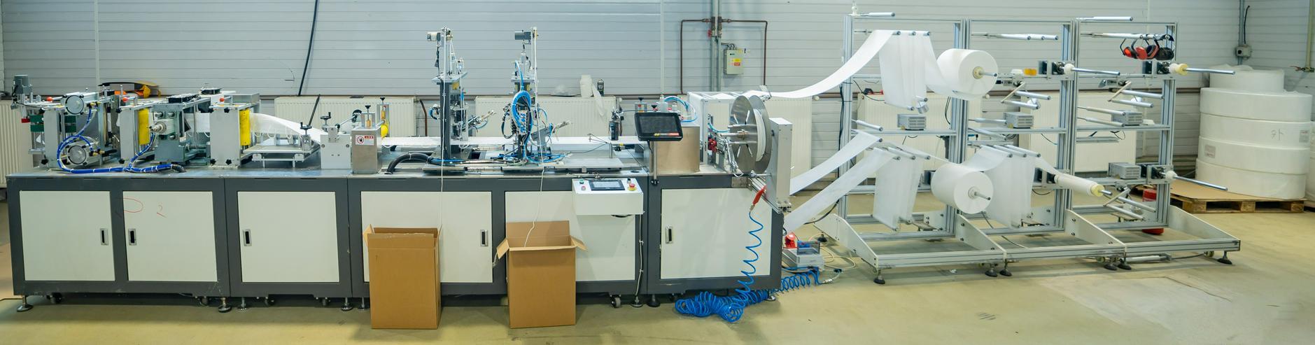 Automatisierte Herstellung von Respiratoren