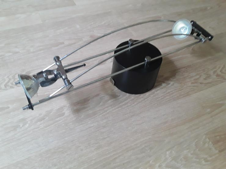 Bild 3: Deckenlampe / Deckenleuchte mit 2 Spots