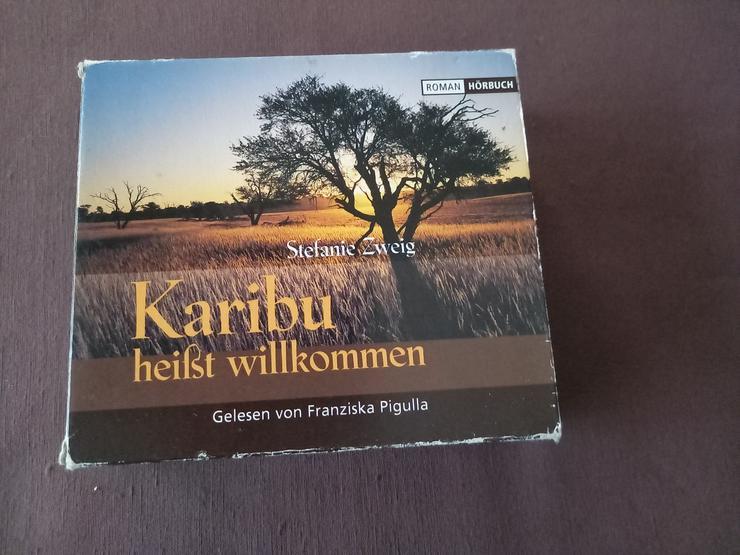 """Hörbuch """"Karibu heißt willkommen"""" Stefanie Zweig   Afrika/Kenia - Hörbücher - Bild 1"""