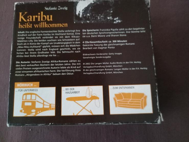 """Bild 2: Hörbuch """"Karibu heißt willkommen"""" Stefanie Zweig   Afrika/Kenia"""