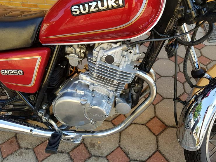 Bild 3: Suzuki GN 250 zu verkaufen