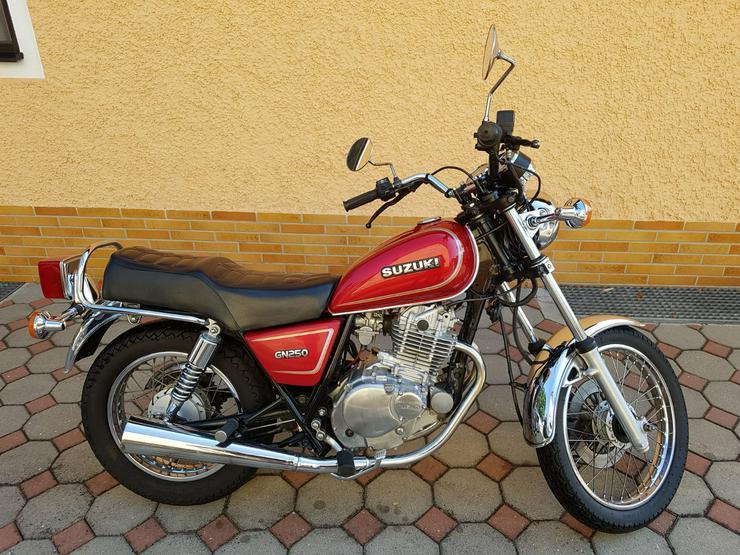 Bild 2: Suzuki GN 250 zu verkaufen