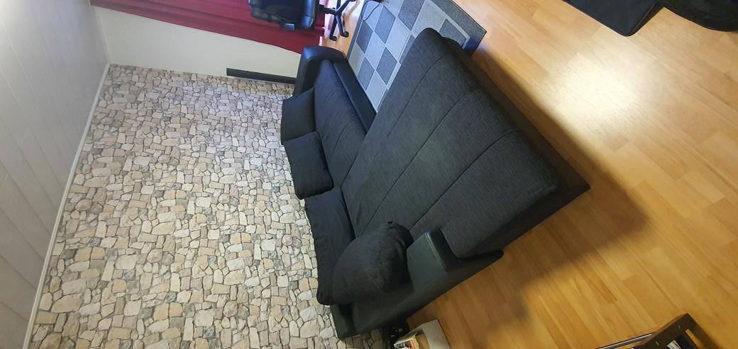 Couch schwarz  - Sofas & Sitzmöbel - Bild 1