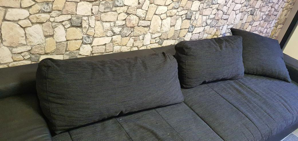 Bild 2: Couch schwarz