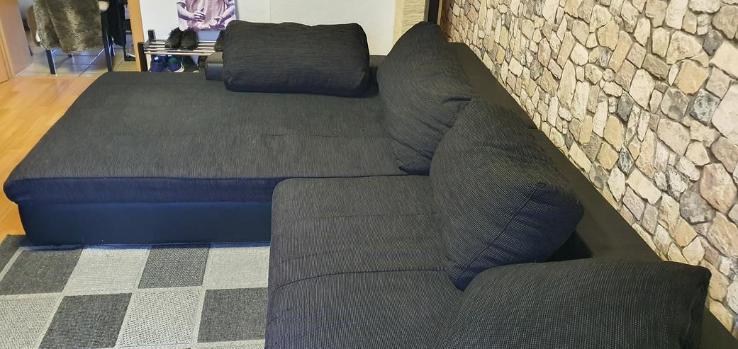 Bild 3: Couch schwarz