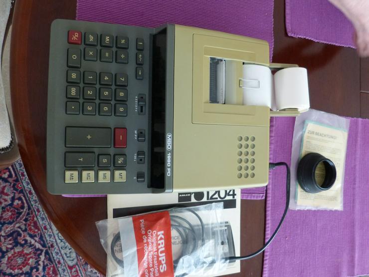 MBO 1980 PD Tischrechner Rechenmaschine