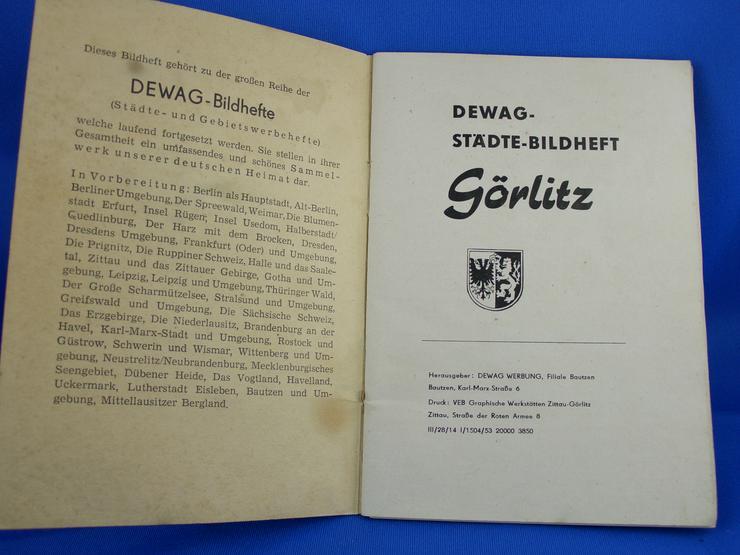 Bild 2: Bilder Buch Görlitz / Geschichte / Alte Städte / Gebäude / Alte Fotos