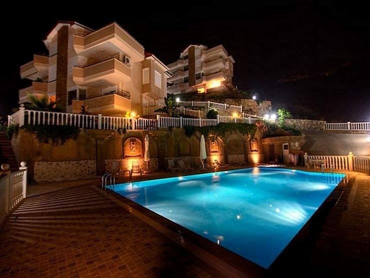 Türkei, Alanya, Große Duplex Wohn. mit Meerblick, 300