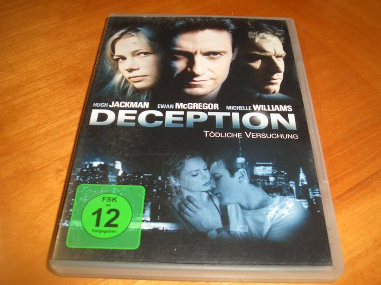DECEPTION dvd