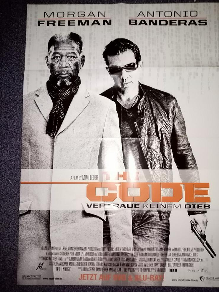 2009 Orginal Plakat A1  The Code  Morgan Freeman