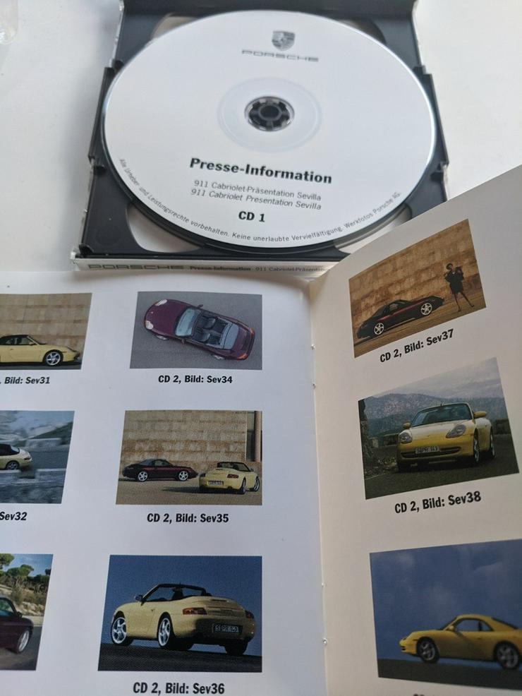 Porsche 1998  Presse Präsentation Sevilla Set mit Booklet + 2 CD