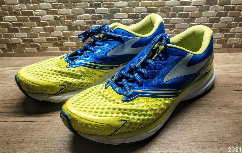 Laufschuhe Jogging von BROOKS Mod. LAUNCH EUR 42,5 UK8 sehr leicht Versand möglich Joggingschuhe Sportschuhe