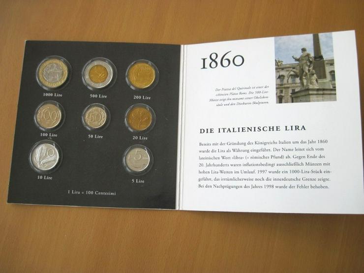 Münzen Italien KMS Prägejahre 1978 - 1999 in Lire
