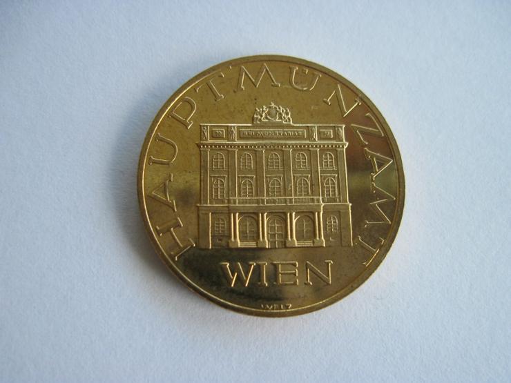 Medaille Wien 1986 Hauptmünzamt - Weitere - Bild 1