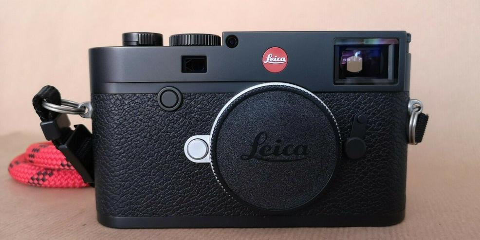 Leica M10 Schwarz Verchromt (20000) Messsucherkamera