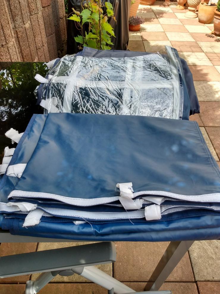 Seitenteile für Zelte