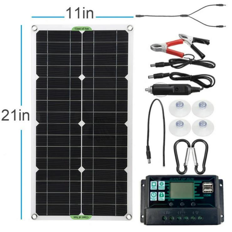 komplette Solaranlage 250 Watt