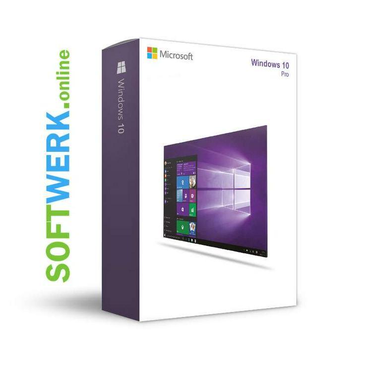 Windows 10 Professional Lizenz RETAIL UNBENUTZT NAGELNEU