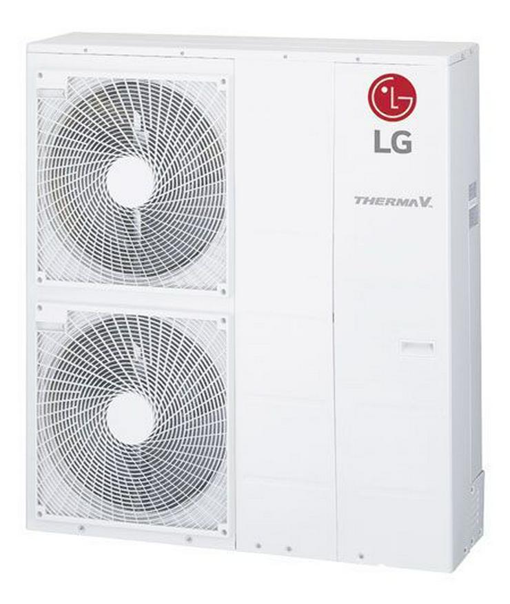 1A LG Therma V Set Monobloc Silent Luft-Wasser-Wärmepumpe 18 kW EEK