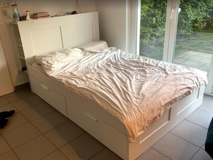 IKEA Hemnes Bett (Inclusive Kopfteil, Lattenrost und Matratze)