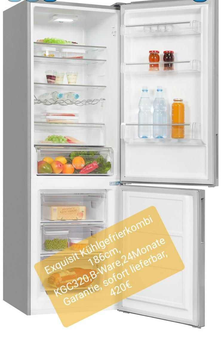 Exquisit Kühlschrank 186cm, KGC320