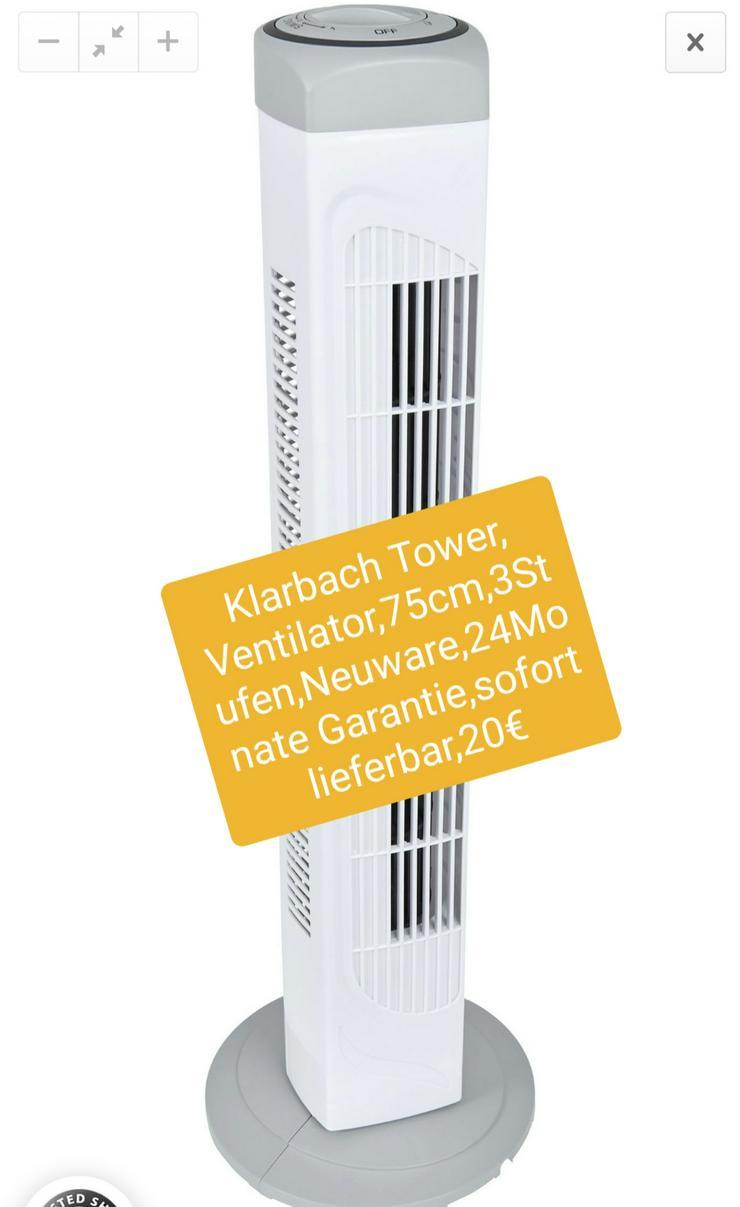 Klarbach Tower Ventilator, 75cm