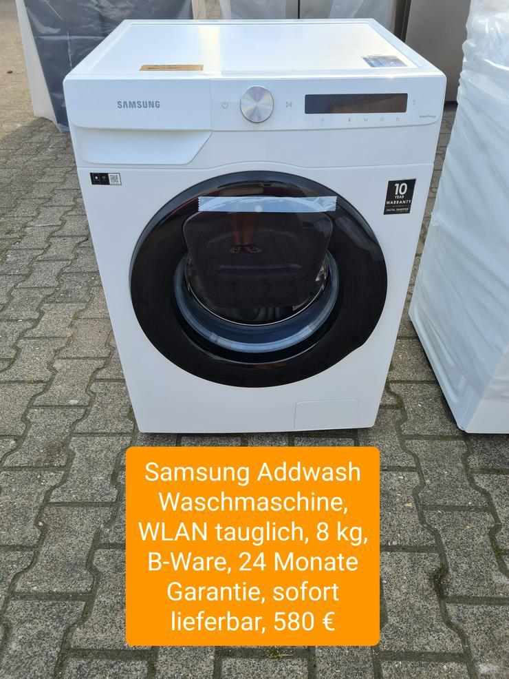 Samsung Addwash Waschmaschine, WLAN tauglich, 8kg