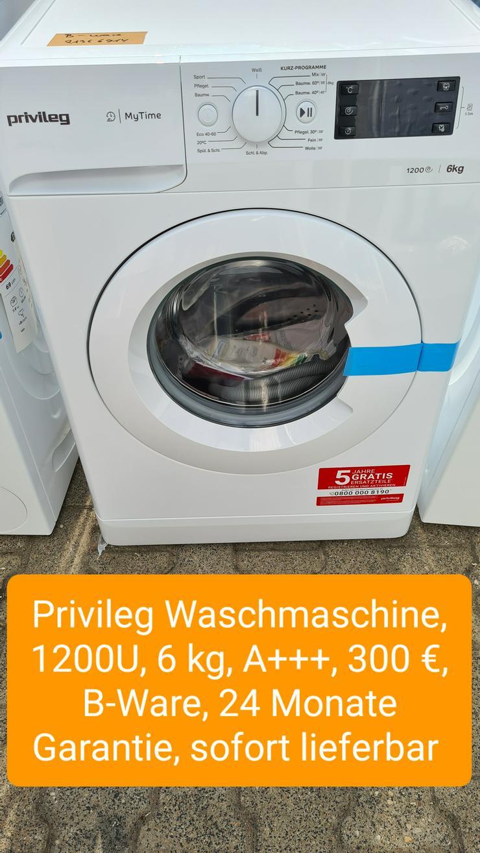 Privileg Waschmaschine, 1200U, 6kg