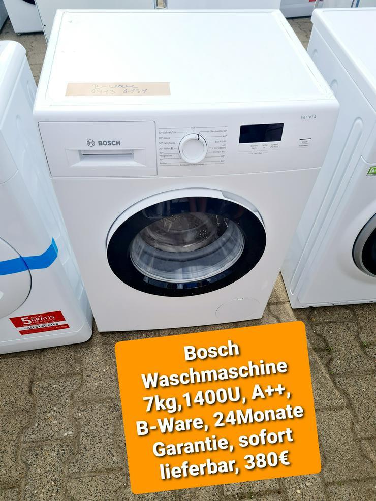 Bosch Waschmaschine 7kg, 1400U