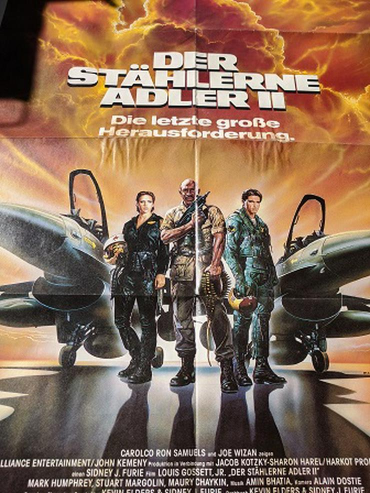 1988 Film Plakat Der Stählerne Adler
