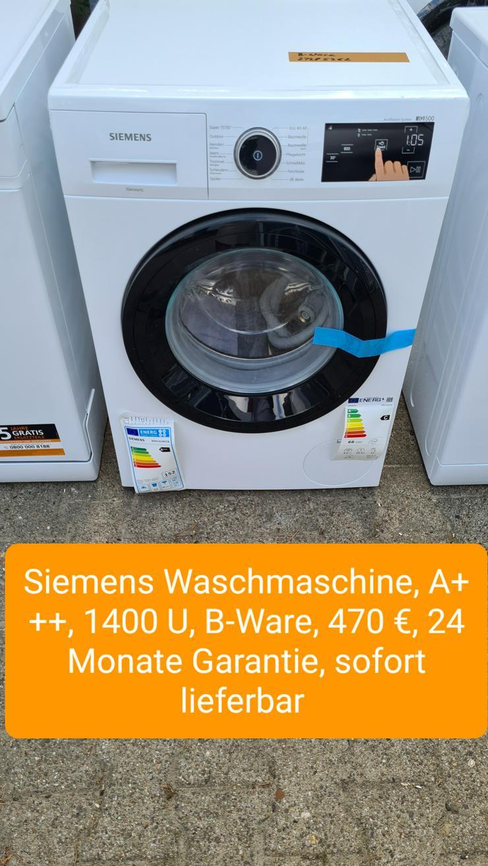 Siemens Waschmaschine, 1400U
