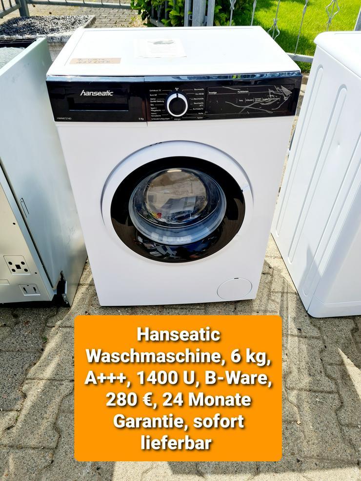 Hanseatic Waschmaschine, 6kg, 1400U